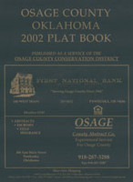 Osage County Oklahoma 2002 Plat Book