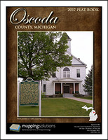 Oscoda County Michigan 2017 Plat Book
