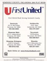 Seminole County Oklahoma 2004 Plat Book