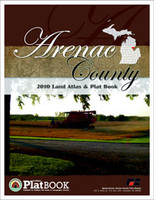 Arenac County Michigan 2010 Plat Book