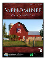 Menominee County Michigan 2017 Plat Book