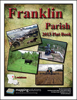 Franklin Parish Louisiana 2013 Plat Book