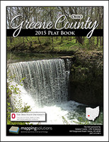 Greene County Ohio 2015 Plat Book