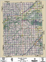 Grundy County Illinois 2015 Aerial Map