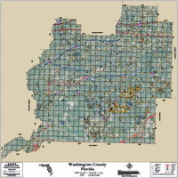 Washington County Florida 2016 Aerial Map