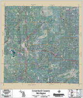 Crawford County Michigan 2017 Aerial Map