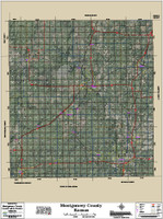 Montgomery County Kansas 2017 Aerial Map