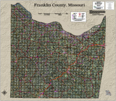 Franklin County Missouri 2017 Aerial Map