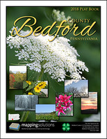 Bedford County Pennsylvania 2018 Plat Book