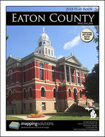 Eaton County Michigan 2018 Plat Book