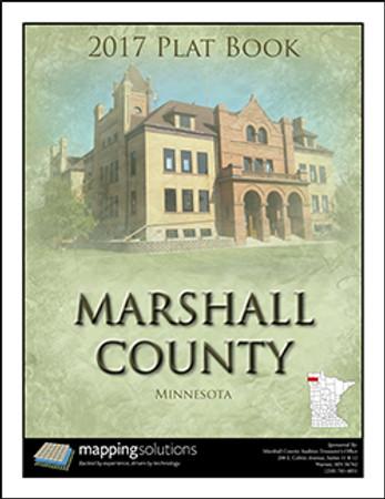 Marshall County Minnesota 2017 Plat Book