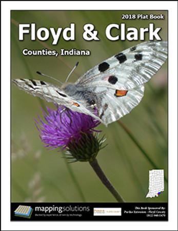 Floyd-Clark Counties Indiana 2018 Plat Book