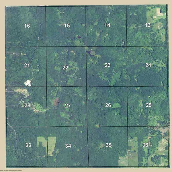 Mapping Solutions Custom Aerial Map