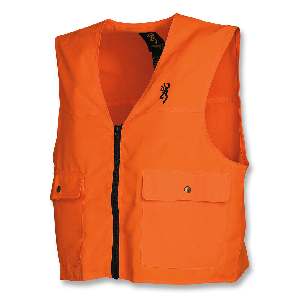 Browning Blaze Orange Safety Vest