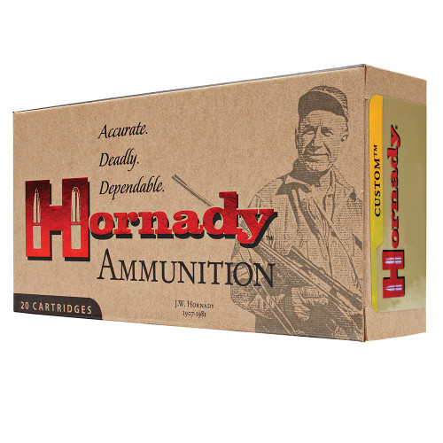 HORNADY CUSTOM 270 WIN 130 GRAIN SP