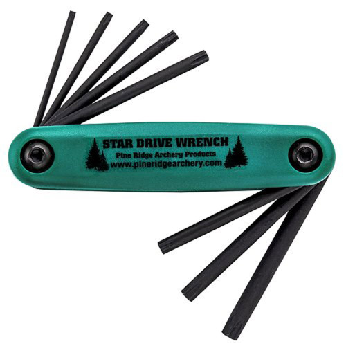 PINE RIDGE STAR DRIVE ARCHERY WRENCH SET