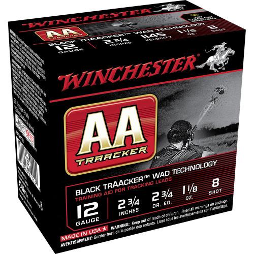 WINCHESTER AA 12GA #8 BLACK WAD