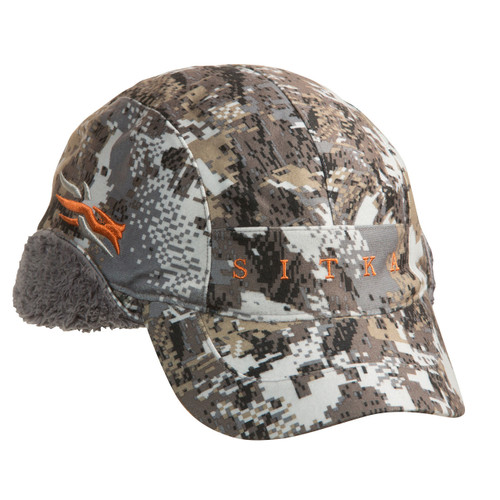 Sitka Incinerator GTX Hat with Windstopper, offered in Gore Optifade Elevated 2 Camo