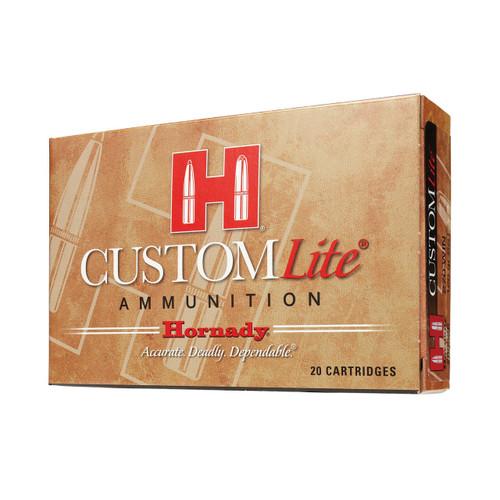 Hornady Custom Lite Ammunition 30-06 125 Grain