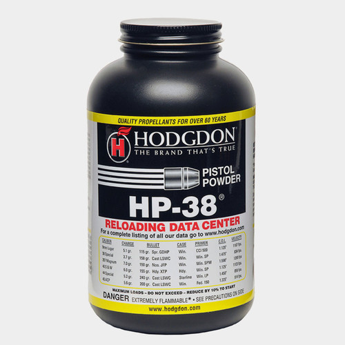 Hodgdon HP-38 Pistol Powder