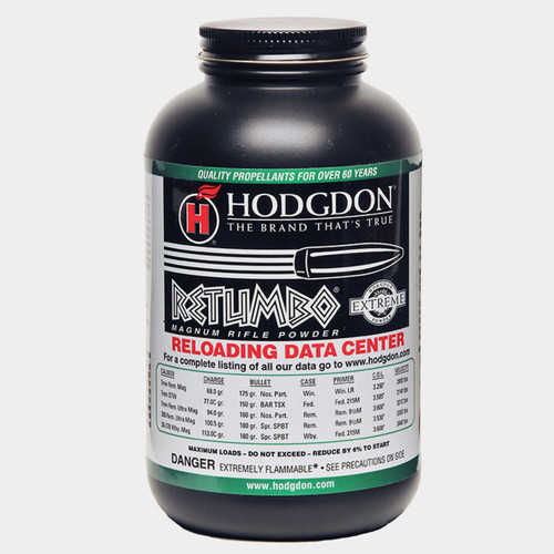 Hodgdon Retumbo Magnum Rifle Powder