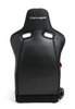 Cipher Auto - VP- 8 Racing Seats all black w/ Black Carbon PU- Pair