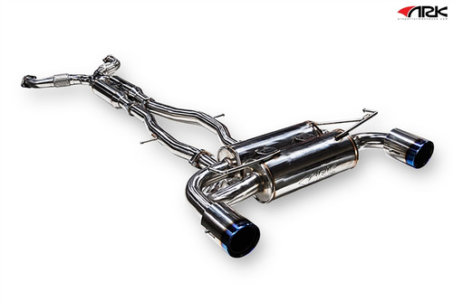 Nissan 370Z (09+) Z34 ARK DT-S Collection (Cat-back Exhaust)  Polished, Burnt, or Tecno Tip Z34 ARK Performance | DT-S Exhaust Collection