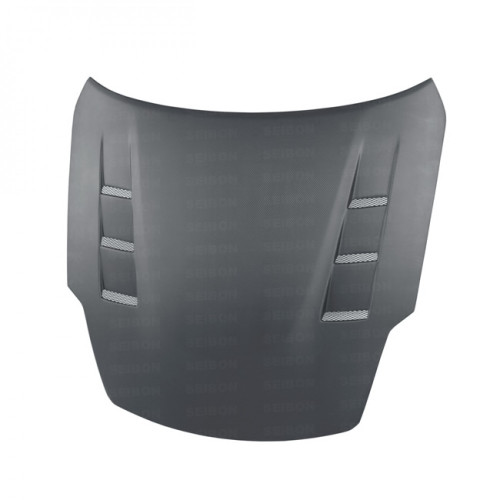 TS-STYLE DRY CARBON HOOD FOR 2007-2008 NISSAN 350Z..*ALL DRY CARBON PRODUCTS ARE MATTE FINISH! (ALSO FITS 2002-2006 MODELS)