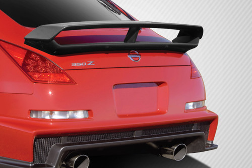 2003-2008 Nissan 350Z 2DR Coupe Carbon Creations N-3 Trunk Wing Spoiler - 1 Piece