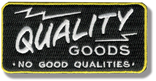 Quality Goods Patch
