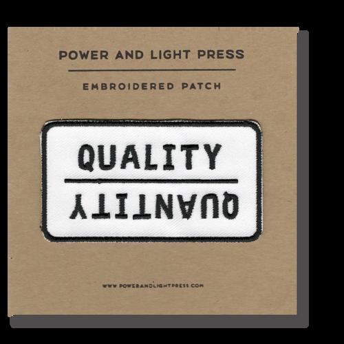Quality/Quantity