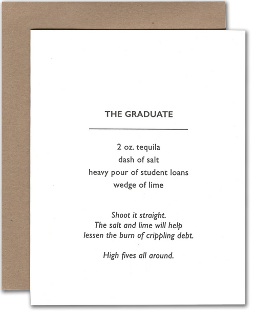 Graduation Cocktail