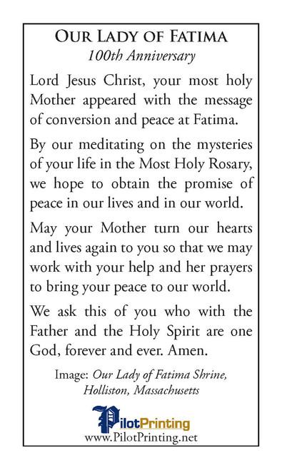 The Message of Fatima Lucia Speaks/Fatima Prayer Cell Program: Sr. Maria  Lucia ...