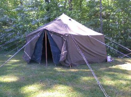 ... G.P. Small Tent 17u00276u0027u0027X17u00276u0027u0027 U S Military General & General Purpose Small Military Tent