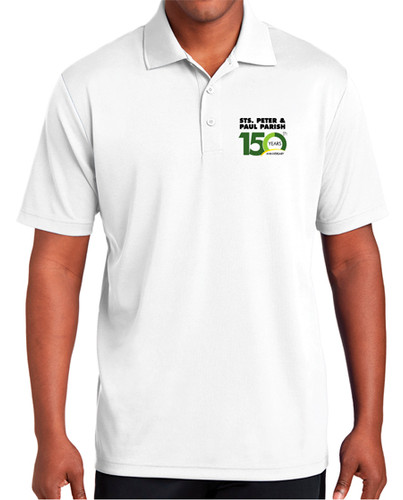 Adult White Polo