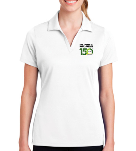 Ladies White Polo