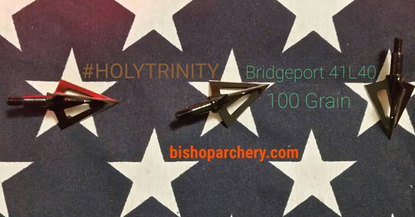 BRIDGEPORT #HOLYTRINITY 100 GRAIN THREE PACK