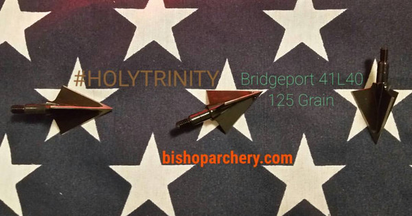 BRIDGEPORT 125 GRAIN #HOLYTRINITY 3 PACK