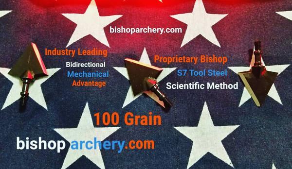 100 GRAIN BISHOP S7 TOOL STEEL SCIENTIFIC METHOD
