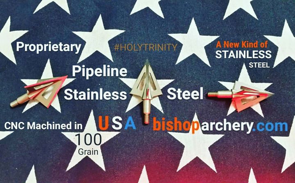 BACK IN STOCK... 100 GRAIN VENTED PROPRIETARY PIPELINE SR STAINLESS STEEL #HOLYTRINITY