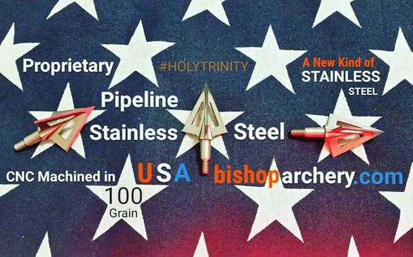 BACK IN STOCK... 100 GRAIN VENTED PROPRIETARY PIPELINE SR STAINLESS STEEL #HOLYTRINITY