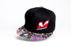 "M0512-CO Mugen ""M"" Logo Hat (Black/Comic)"