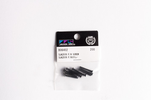 B0640/2 SJG 2x16 F/H Screw (10pcs)
