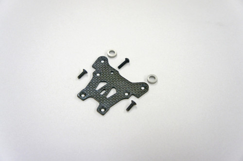 E2121 Graphite Front Steering Plate: X7