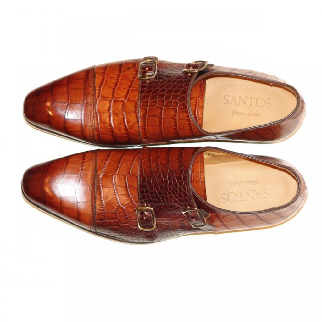 Pelle Line Exclusive Colmar Double Monk Strap Brown