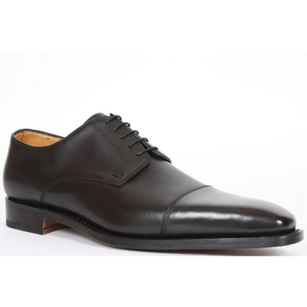 Paraboot Waterloo(90312) Cap Toe Lace Up Black