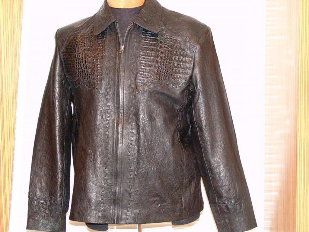 Pelleline Hornback Jacket Black