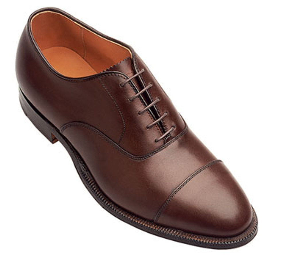 Alden 920 Straight Tip Bal Dark Brown
