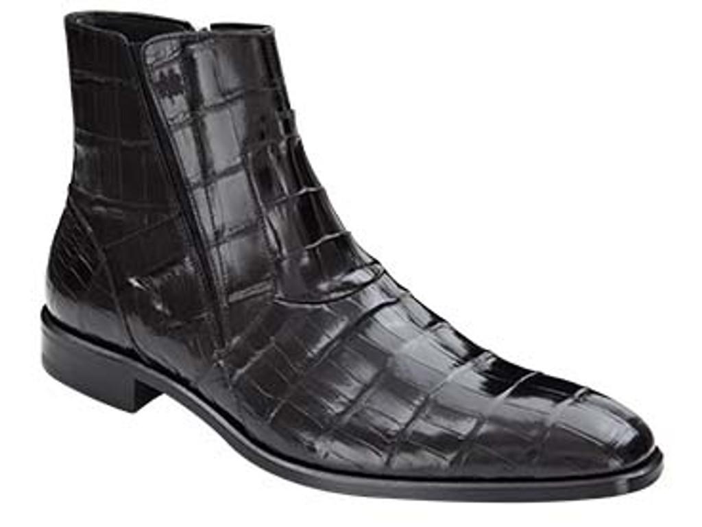 Mezlan, Belucci, Black Alligator Boot