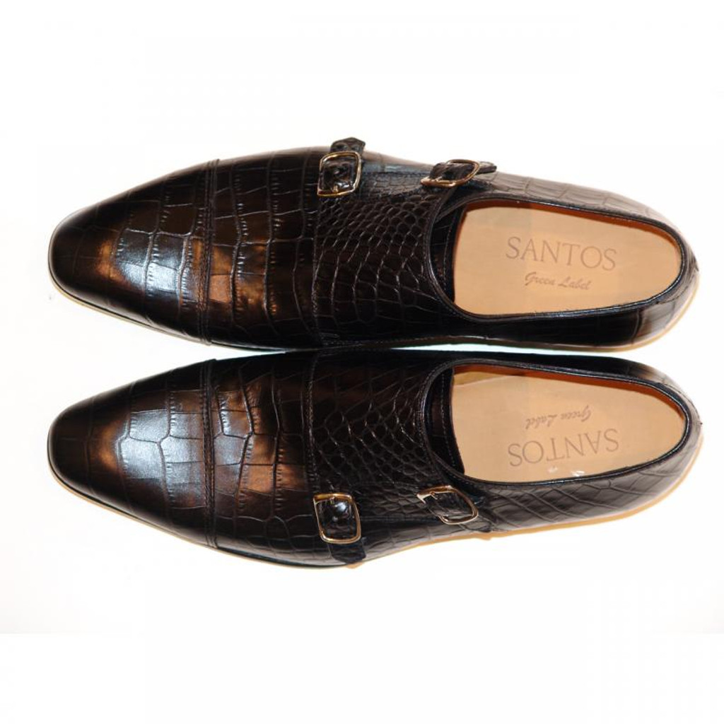 Pelle Line Exclusive Colmar Double Monk Strap Black